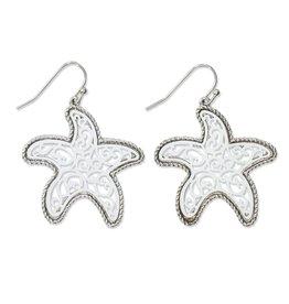 Periwinkle by Barlow Filigree Starfish Earrings