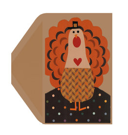 PAPYRUS® Thanksgiving Card Playful Turkey