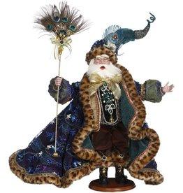Mark Roberts Fairies Christmas Santas Peacock Jewel Santa 24 Inch
