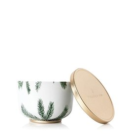 Frasier Fir Poured Candle Tin With Gold Lid 6.5 Oz