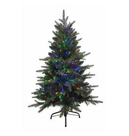 Kurt Adler 4 Foot Pre-Lit Yukon Christmas Tree Color Changing WW Multi