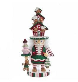 Kurt Adler Hollywood Christmas Hat Nutcrackers 11-12 Inch 3 Assorted