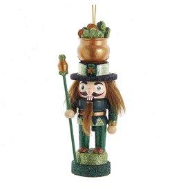 Kurt Adler Hollywood Wooden Irish Nutcracker Ornament