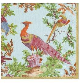 Caspari Paper Cocktail Napkins 20pk Chelsea Birds