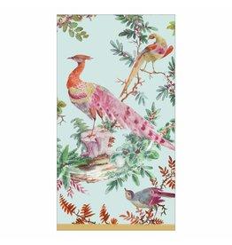 Caspari Paper Guest Towel Napkins 15pk Chelsea Birds