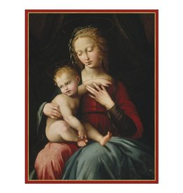 Caspari Virgin And Child Large Boxed Christmas Cards 16pk