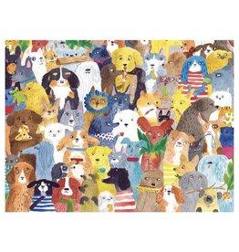 WerkShoppe Jigsaw Puzzle Doggie Day Care 500 Piece