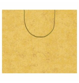 Caspari Christmas Gift Bag Large 11.75x4.75x10 Antique Gold