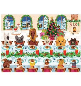 Caspari Christmas Advent Calendar The Pet Table