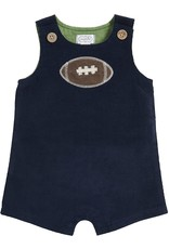 Mud Pie Baby N Kids Clothing One-Piece Football Shortall 3-6 Months