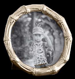 Beatriz Ball Frame Sierra Bamboo CG 5x5 Round Picture Photo Frame