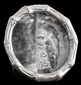 Beatriz Ball Frame Sierra Bamboo 5x5 Round Picture Photo Frame
