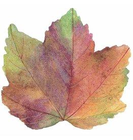 Caspari Thanksgiving Fall Autumn Leaf Die-Cut Placemat