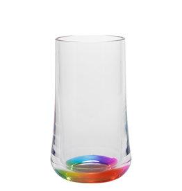 Merritt International Acrylic Reflections Rainbow Hi Ball Tumbler 14 Oz