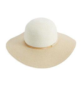 Mud Pie Women's Hats - Color-Block Sun Hat