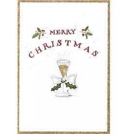 Caspari Christmas Cards Merry Christmas Cocktail Card