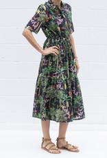 Vilagallo Eveline Print Dress