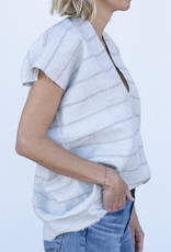 Jag Jewelry and Goods Jana - Blue & Grey Stripe