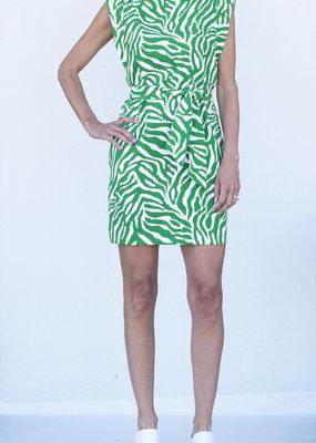 Tara Jarmon Zebra Print Dress