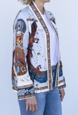 Sabina Savage Short Silk Jacket