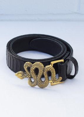 Claris Virot Snake Belt
