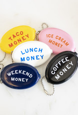Three Potato Four Keychain Pouch - Coffee Money