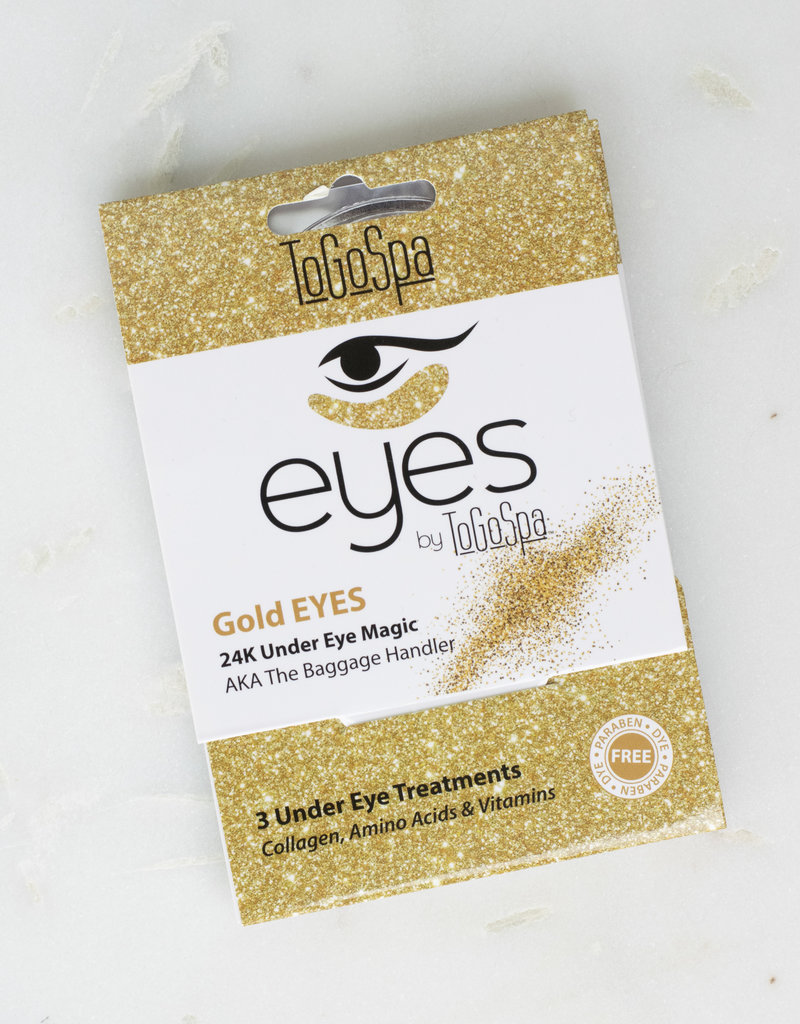 To Go Spa Eye Patches