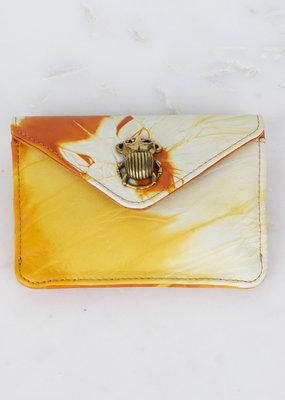 Claris Virot Tie Dye Wallet