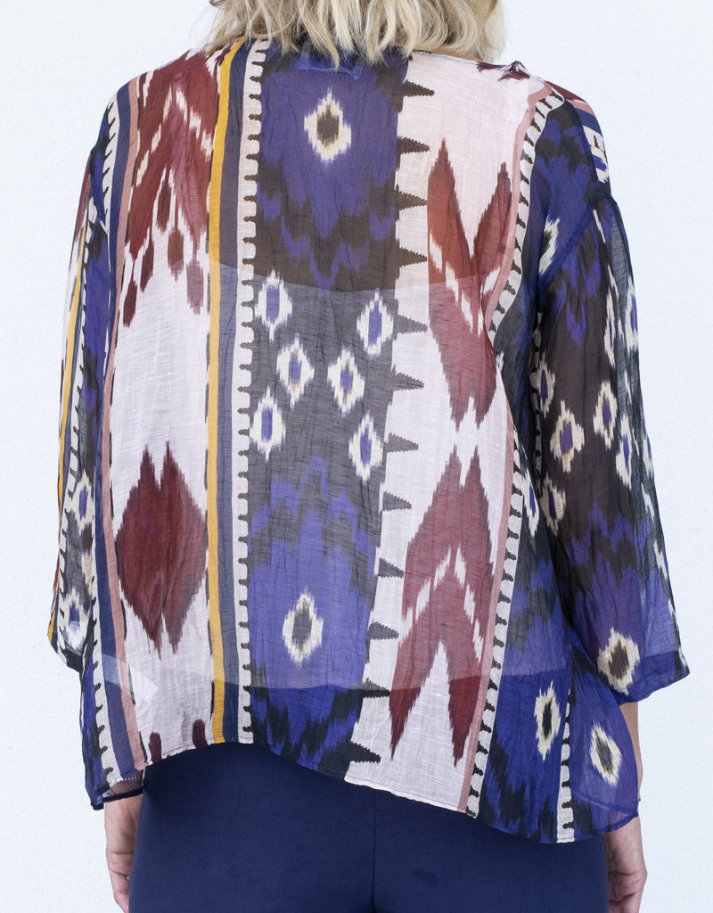 Forte Forte Ikat boxy top