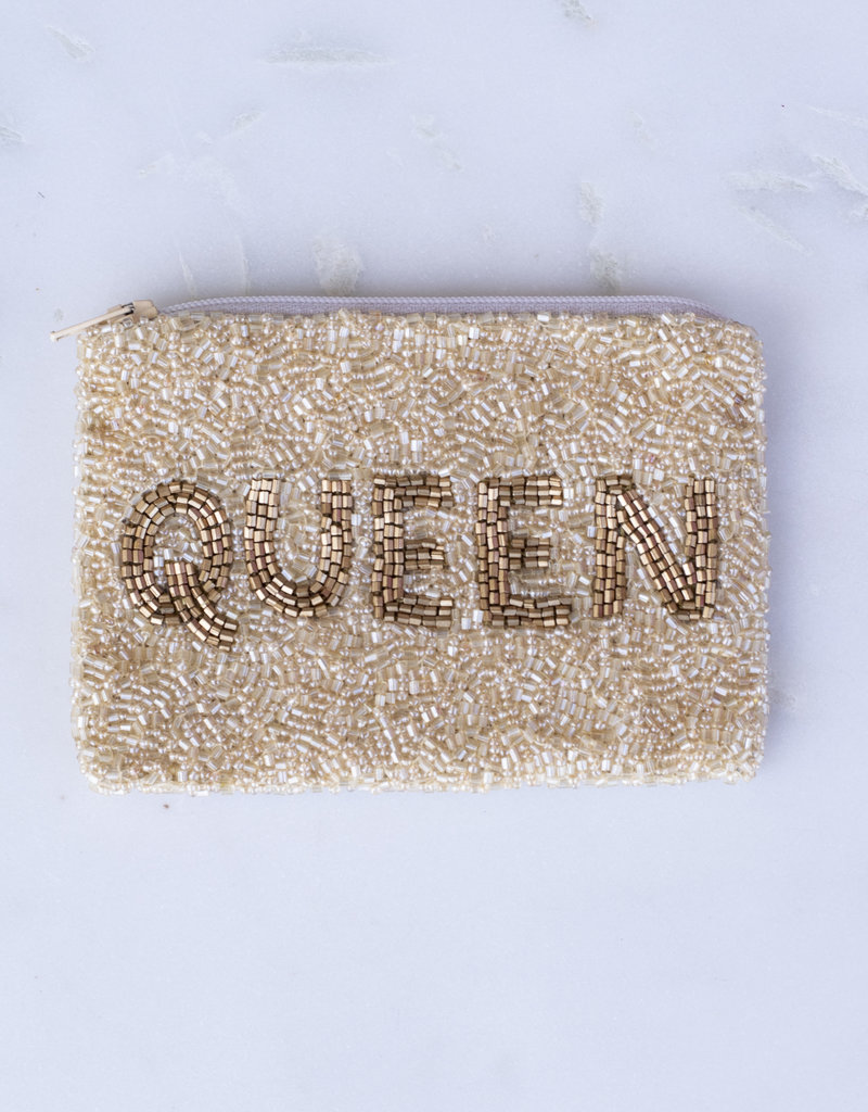 Beaded Coin Purse - Queen