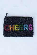 Beaded Coin Purse - Rainbow Cheers