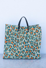 Clare V. Simple Tote - Neon Cat
