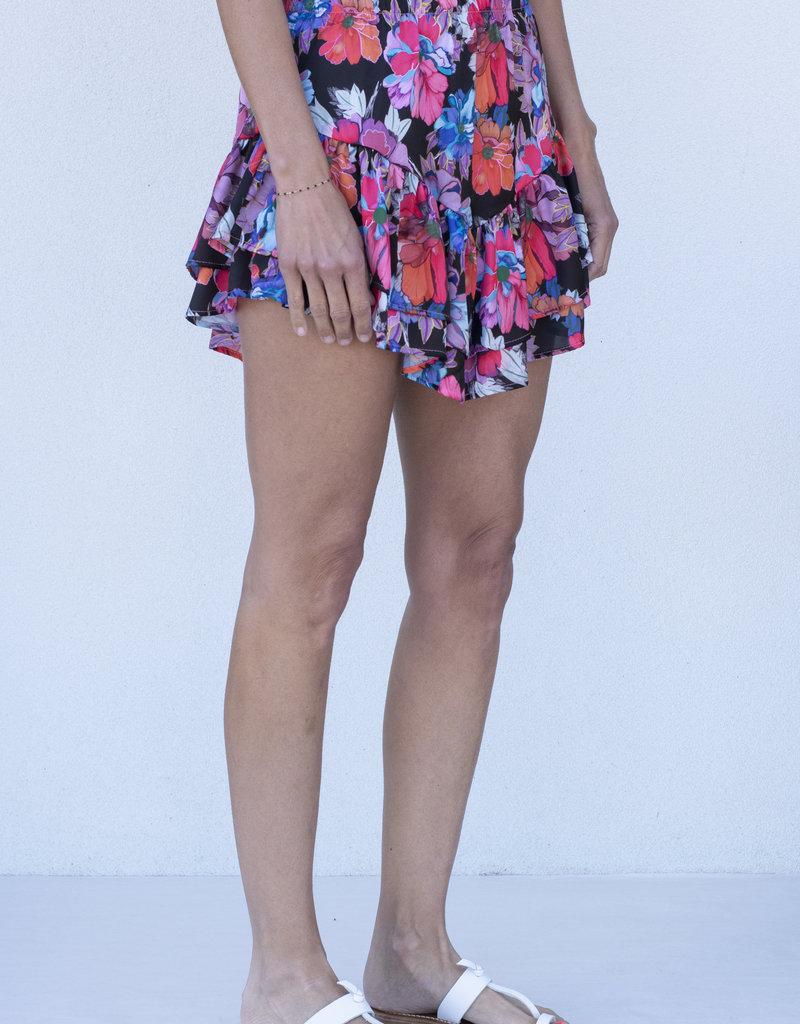 Lobo Rosa Floral Mini Skirt