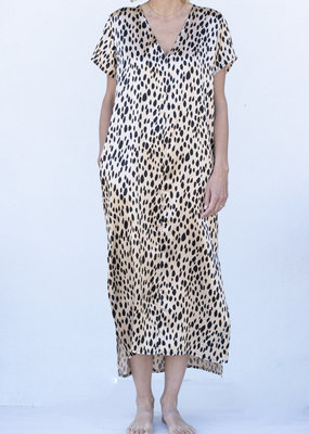 Jag Jewelry and Goods Leopard Long Dress