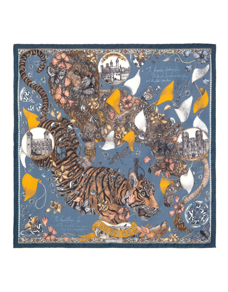 Sabina Savage 135 x 135 Large Tiger- 2 colors available