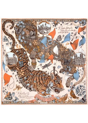 Sabina Savage 90 x 90 Medium Tiger- 2 colors available