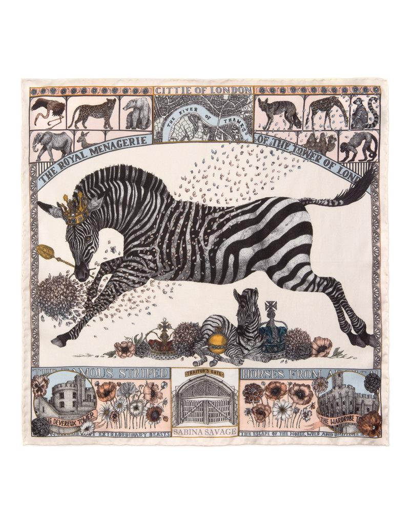 Sabina Savage 90 x 90 Medium Zebra- 2 colors available