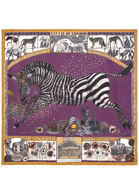 Sabina Savage 42 X 42 Small Zebra- 2 colors available