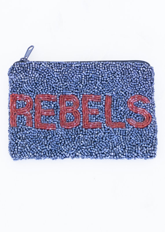 Beaded Coin Purse - Rebels