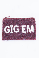 Beaded Coin Purse - ATM