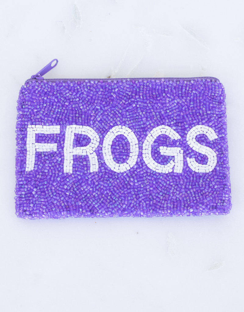 Beaded Coin Purse - TCU