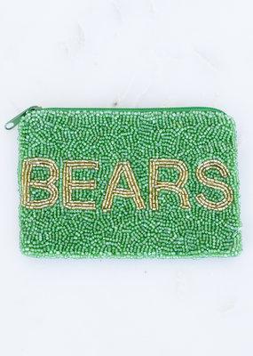 Beaded Coin Purse - Bears