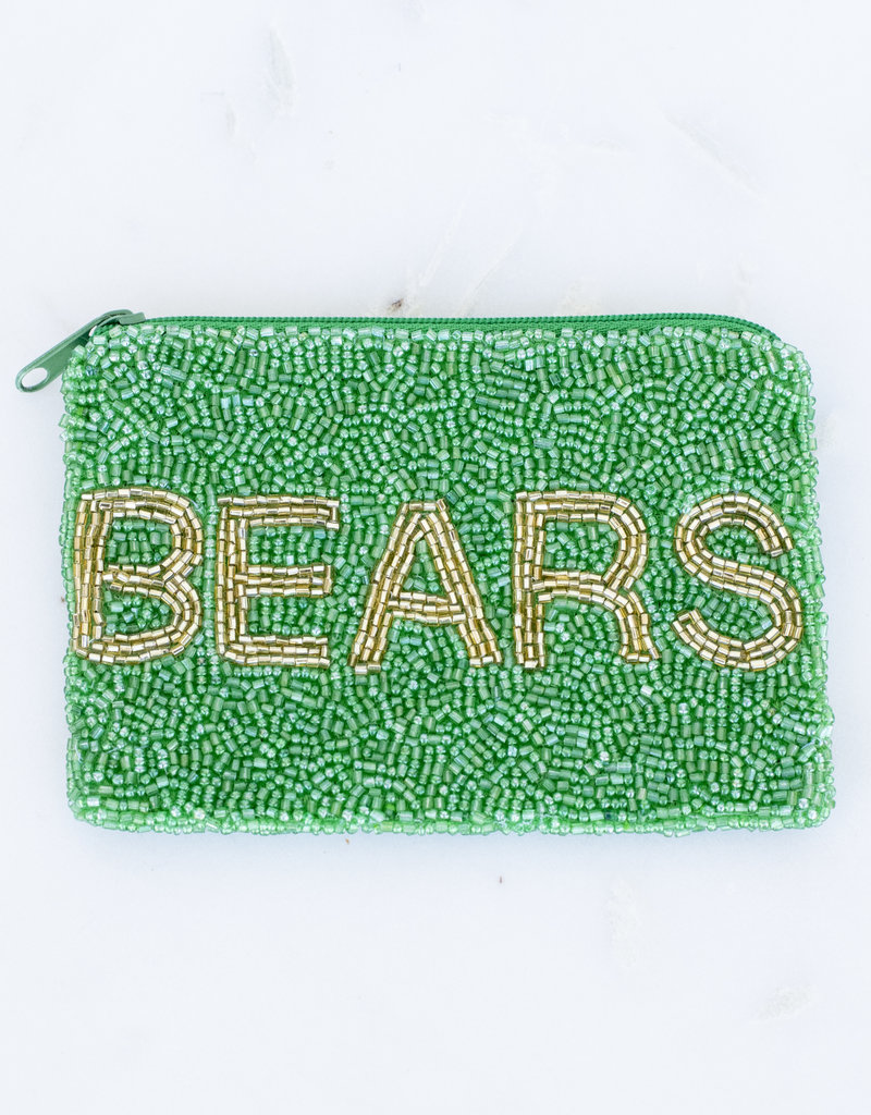 Beaded Coin Purse - Bears