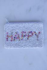 Beaded Coin Purse - Happy Confetti
