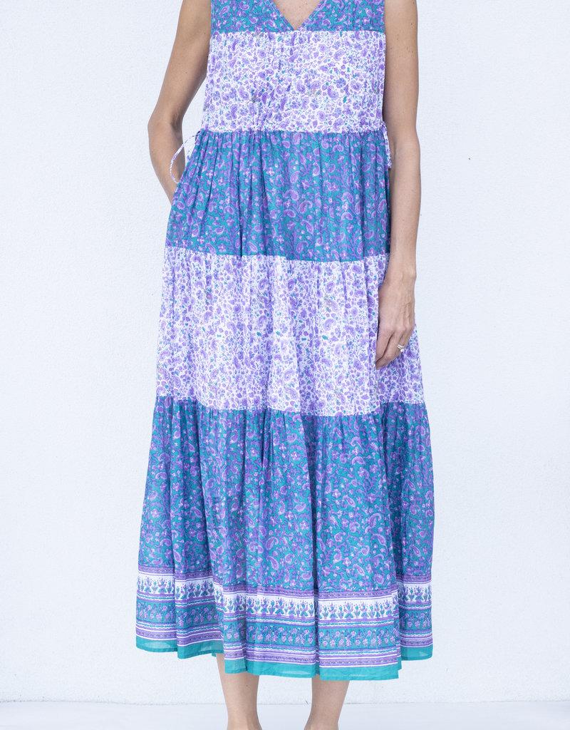 Ne Quittez Pas Ethnic Print Dress