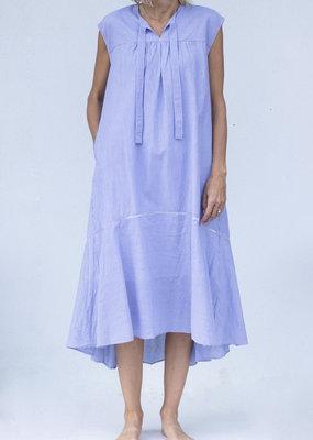 Ne Quittez Pas Stripe Frill Dress