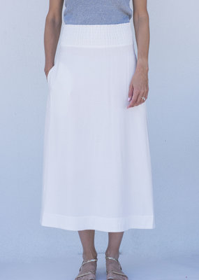 Brochu Walker Leda Smocked Skirt