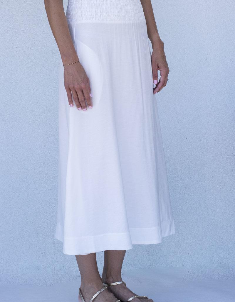Brochu Walker Leda Smocked Skirt