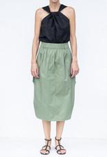 Tibi Twill Full Skirt
