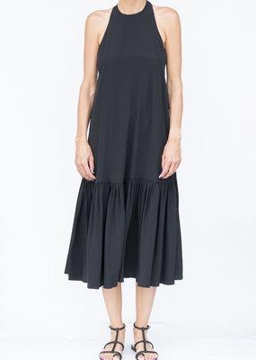 Tibi Halter Midi Dress